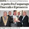 11 Agosto 2013, Un patto fra l'asparago il baccalà e il prosecco