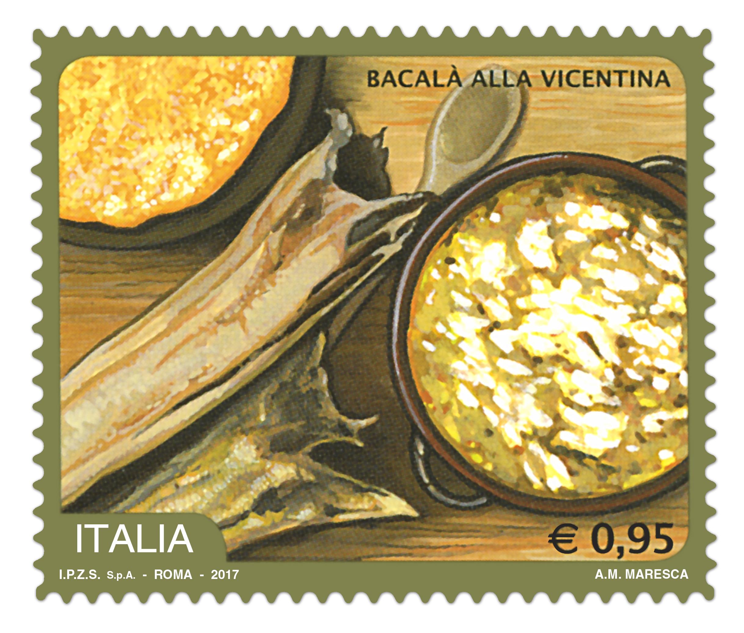 Francobollo Confraternita Bacalà alla Vicentina