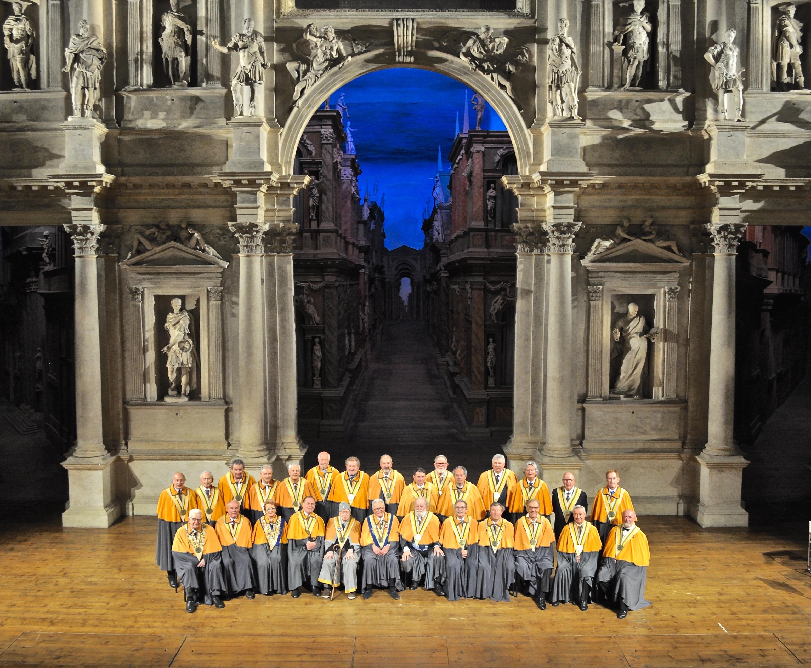 30 Anniversario Confraternita del Bacalà alla Vicentina in Teatro Olimpico di Vicenza